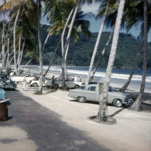 Maracas Bay Trinidad Dec. 1958 10 x 10