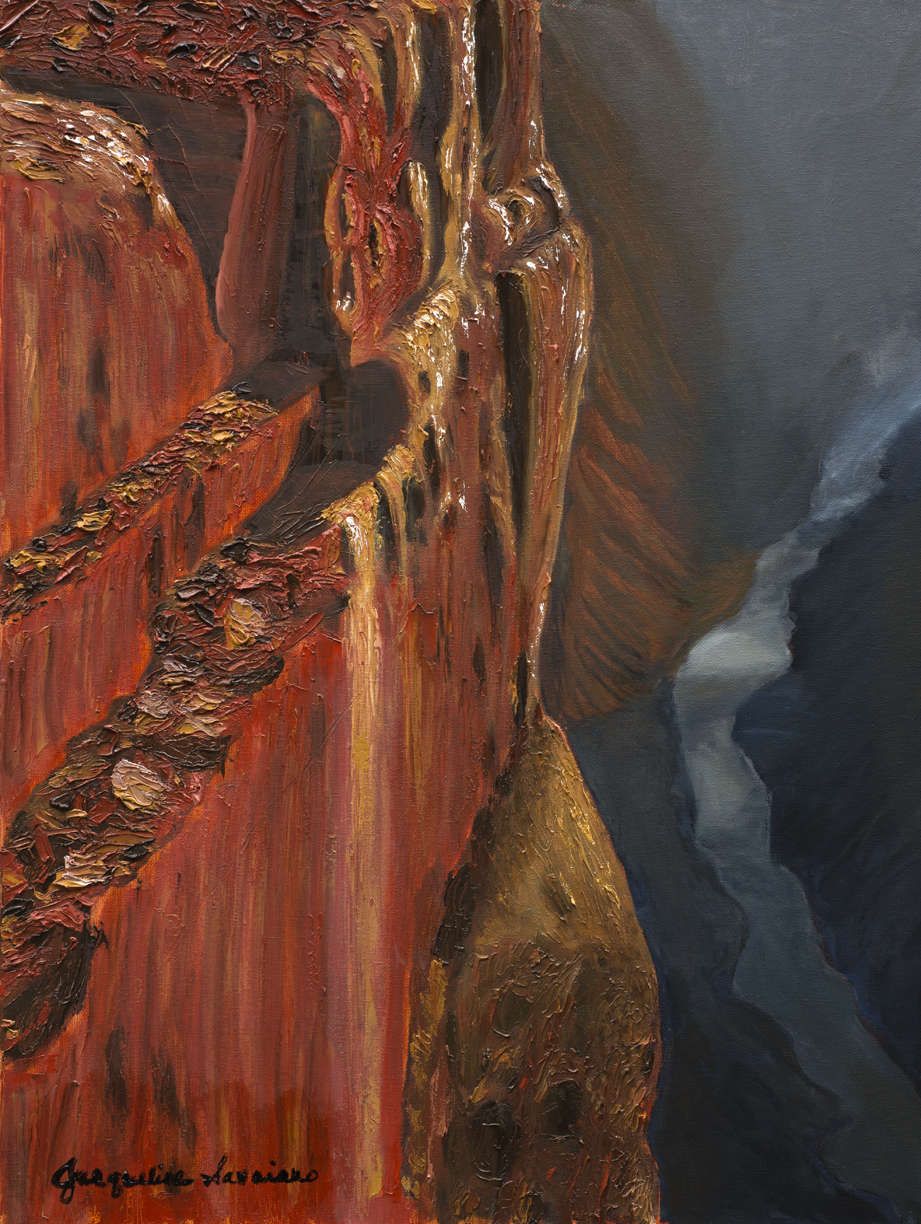 """Grand Canyon - Full - Oil on Canvas - 18"""" x 24"""""""