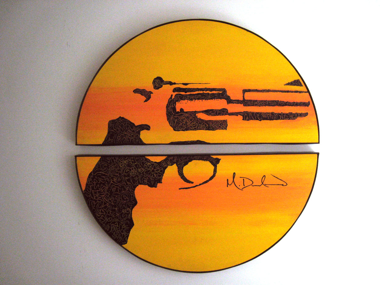 Revolver 36 in total circumference (2 pieces) Acrylic