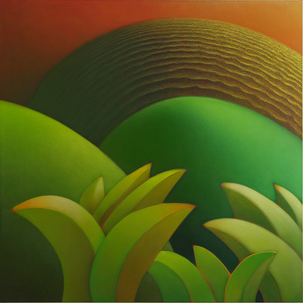 "Matakuni - 44"" x 44"" / oil on canvas / $5,000"